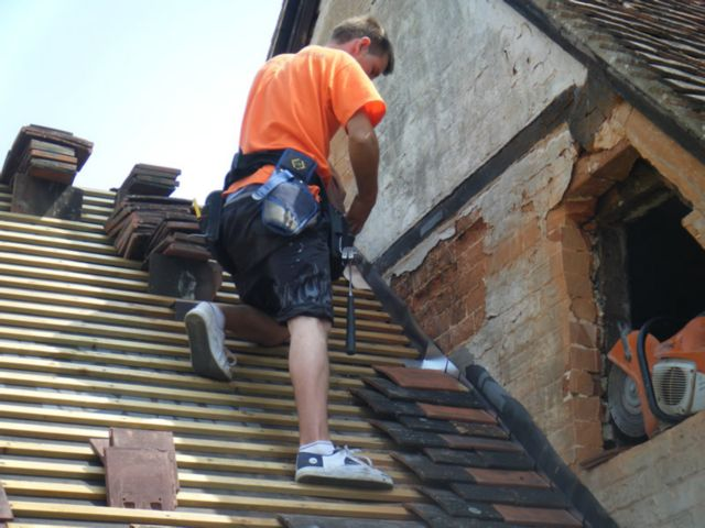 Geneva-Roof Hail Damage-Repair